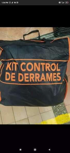 Kit de control de derrame