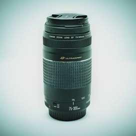 Objetivo Canon EF 75-300mm f/4-5.6 III USM