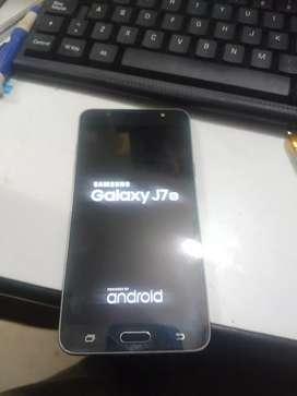 Samsung galaxy j7 2016 impecable estado libre de fabrica