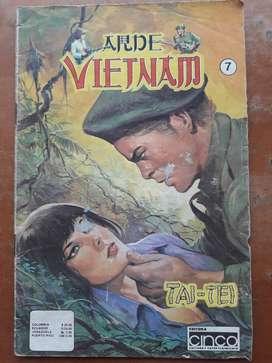 Revista antigua colección de la ARDE VIETNAM, capítulo # 7