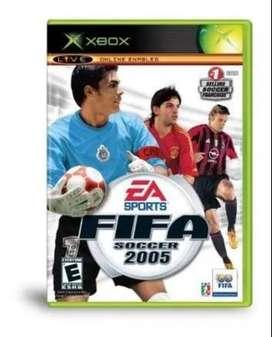 FIFA 2005 Xbox CLASICO COMPLETO