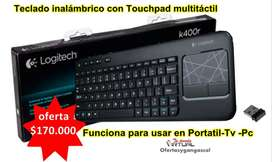 Teclado Inalambrico Logitech K400r Para Tv-android.pc