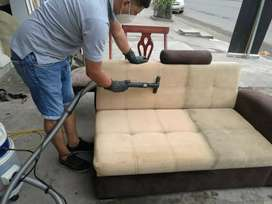 Lavado profesional de muebles a vapor