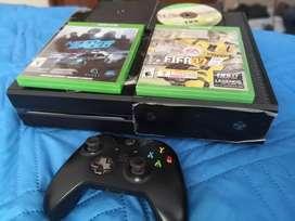 Xbox one 500 gb y un control
