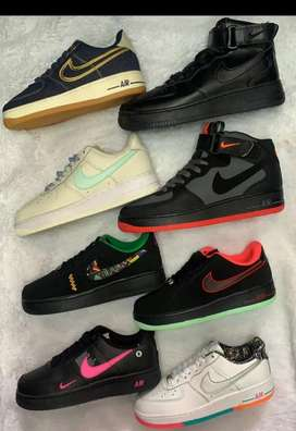 Tenis Nike air force one dama y caballero