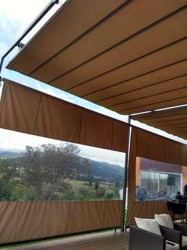 Palilleras - Toldos para terraza y jardín