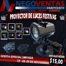 PROYECTOR DE LUCES FESTIVAS