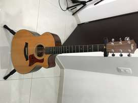 Guitarra taylor 314ce, americana, modelo 2014