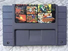 Multi juegos Supernintendo