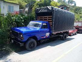 Vendo o cambio Ford a camioneta de estacas