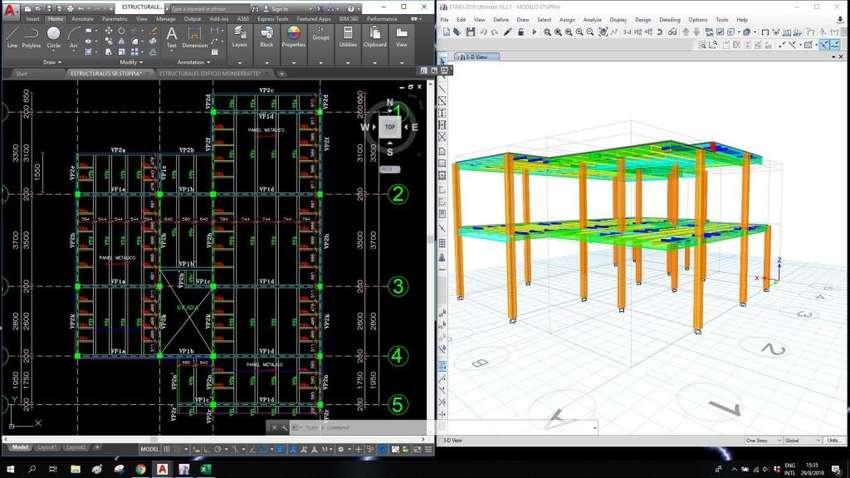 Calculo de estructuras, calculo estructural 0