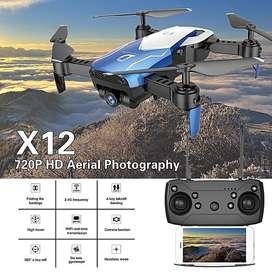 Drone Wifi Camara2mpx Angularhd X12 2020 nuevo diseño