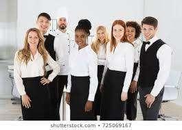 camarero, recepcionista, cocinero, guardias de seguridad, vendedores, vendedores, conductor
