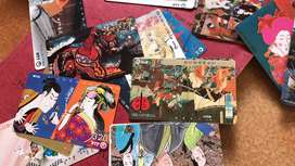 Tarjetas telefonicas japonesas coleccionables