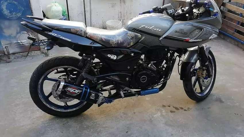 Bajaj 220f, excelente oportunidad.. Motor hecho a nuevo.! 0