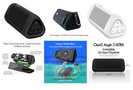 Parlante Negro Oontz Angle 3 Ultra 14w 20h Bluetooth