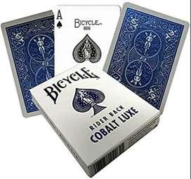 Cartas Baraja Original Bicycle Cobalt Luxe-envía Banimported