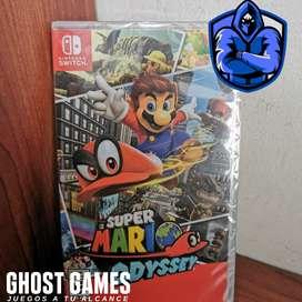 Mario Odyssey totalmente Nuevo y sellado para Switch