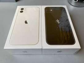 iPhone 11 64GB Negro y Blanco Sellados