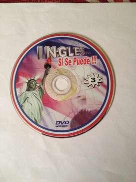DVDs vídeos de ingles