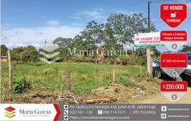 Terreno de 1.7 hectáreas de venta en el cantón Cojimies