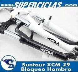 suspension XCM bloqueo hombro rin 29