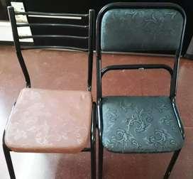 Vendo sillas de caño