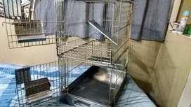 Jaula para Roedores de 2 pisos desmontable (usada)