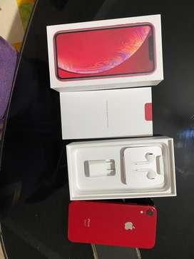 Vendo iphone X R de 64 GB liberado de fabrica original en caja complet