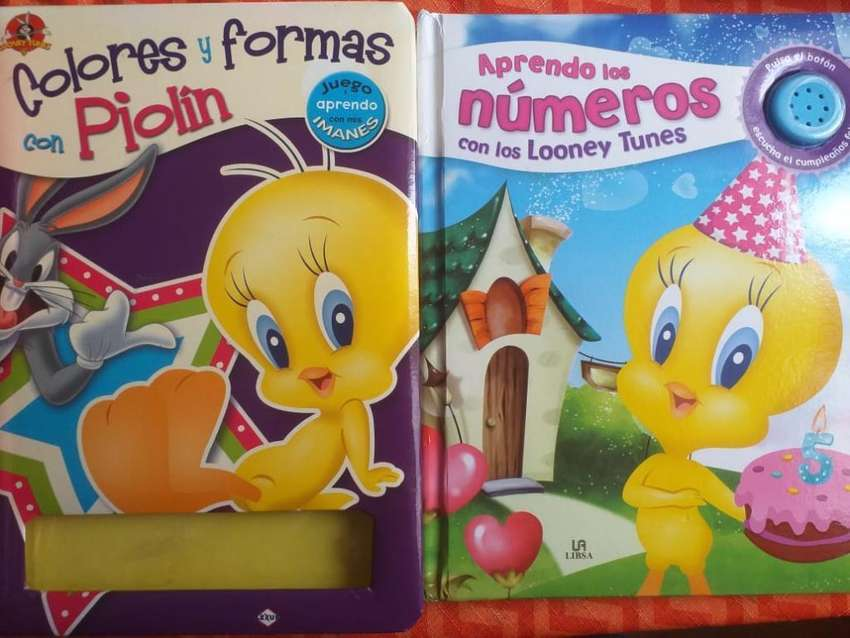 Libros Tapa Dura Looney Tunes Educativo 0
