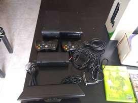 Xbox 360 más Kinect más 9 juegos