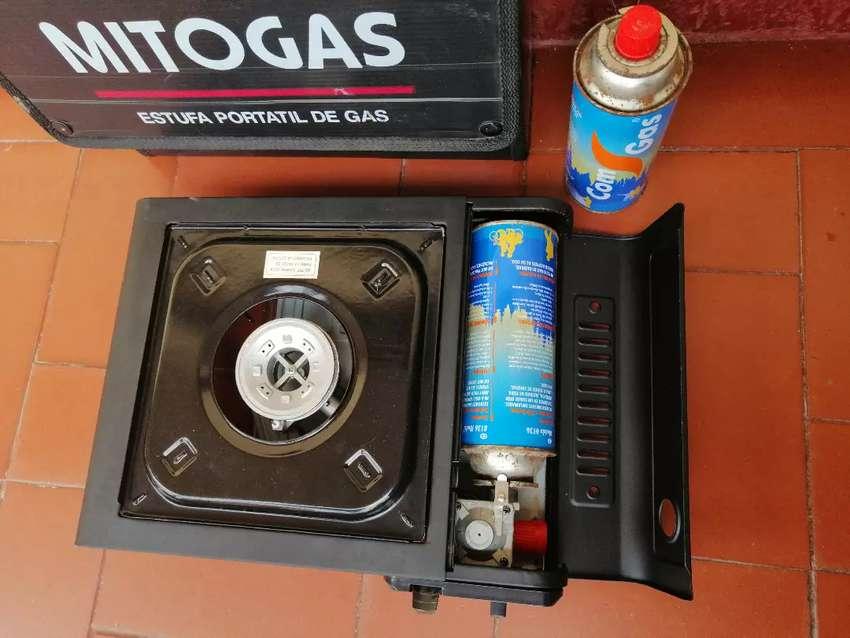 Estufa portátil de gas 0