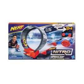 Pista nerf lanzador con pista 360 grados en oferta