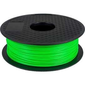 Filamento Pla 1.75mm 1kg  color verde