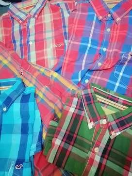 Camisas HOLLISTER
