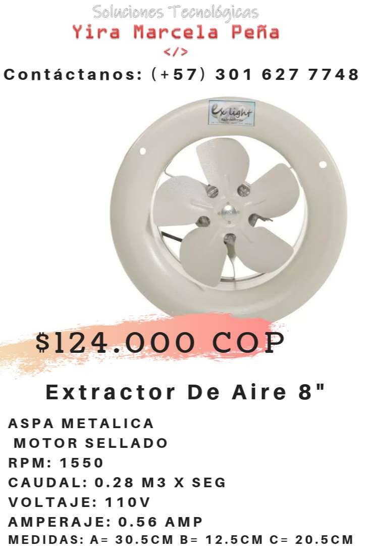 """Extractor de Aire 8"""""""