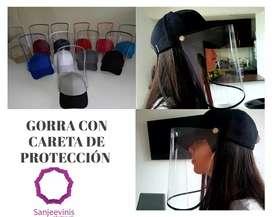 Gorra con visor