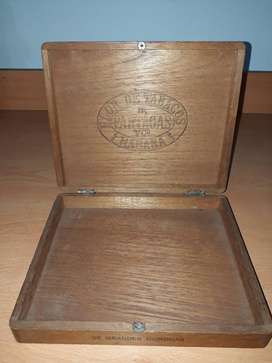 Caja de madera de Habanos cubanos