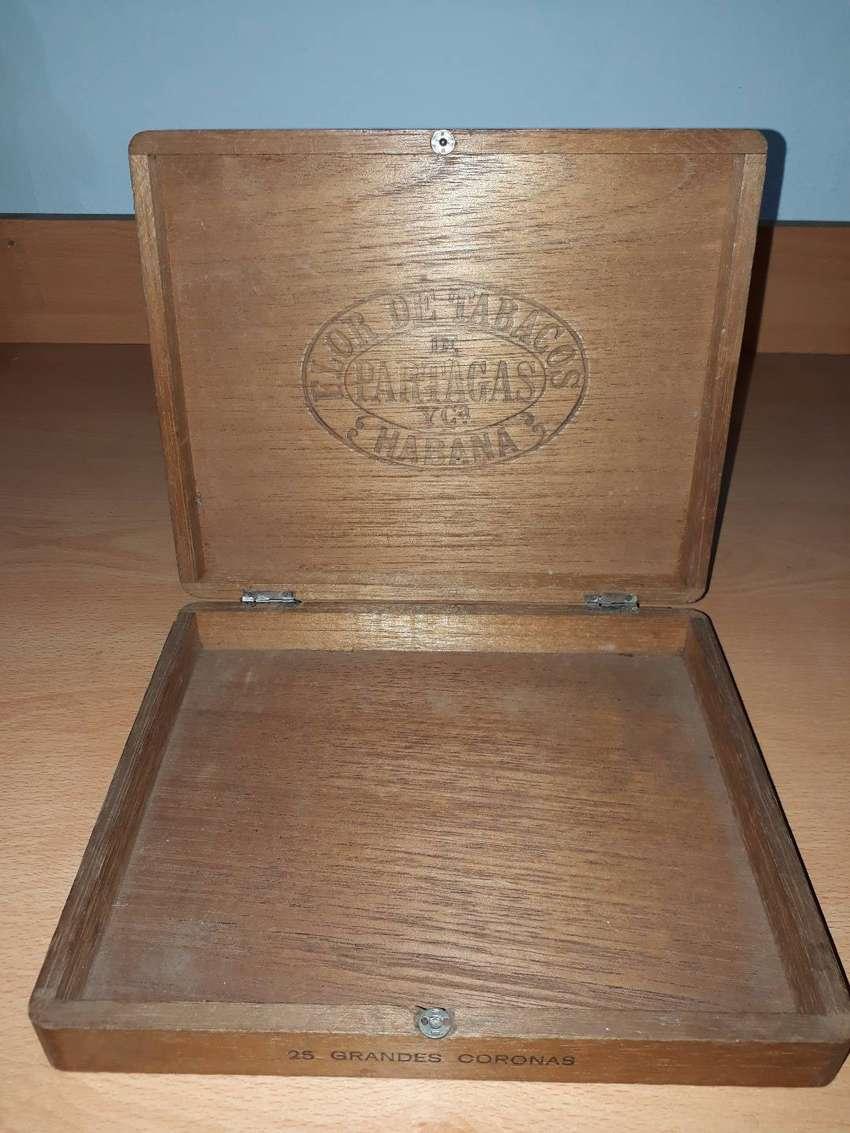 Caja de madera de Habanos cubanos 0