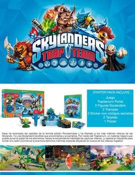 Skylanders Trap Team Starter Pack XBox One Original Nuevo Sellado (Domicilio y Envio Gratis)
