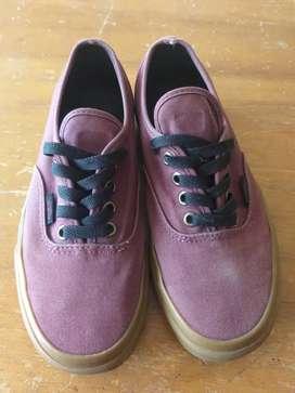 Zapatos Vans Vinotinto- Segunda mano
