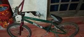 Bmx iron frame