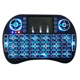 TECLADO SMART MINI CON TOUCHPAD IDEAL TV RETROILUMINADO