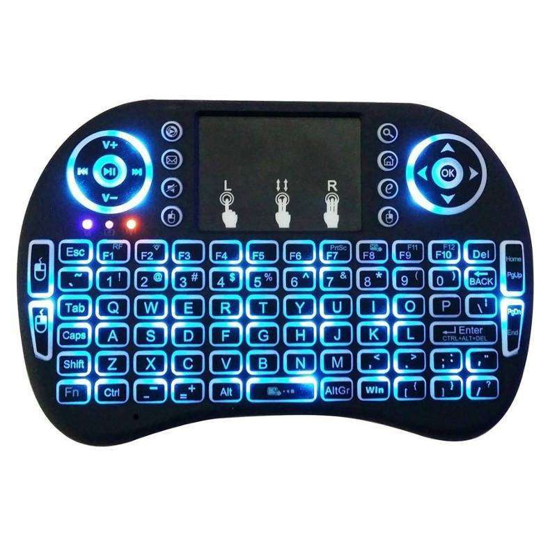 TECLADO SMART MINI CON TOUCHPAD IDEAL TV RETROILUMINADO 0