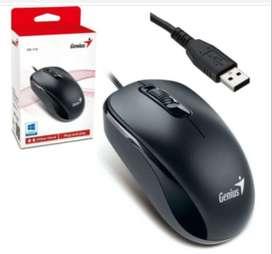 Mouse Original Genius Cable Usb Para Computador Mac Windows