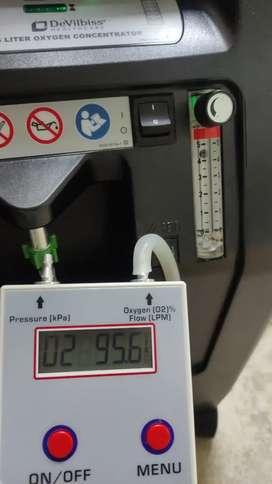 Técnico concentrador oxigeno reparación