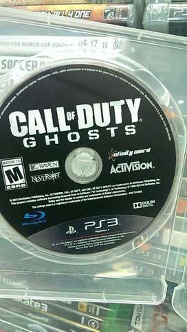 call of duty ghosts ps3 sin caratula