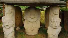 HUILA de escapadita parque arqueologico san Agustín