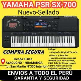 YAMAHA PSR SX-700 CON ADAPTADOR ORIGINAL