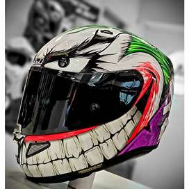 CASCO HJC RPHA11 JOKER DC COMICS MC-48 Talla M